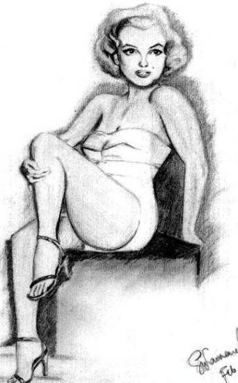 Marilyn Monroe par lawrence.gonzales